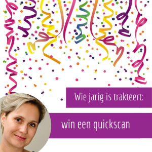 Win quick scan van je website of blog