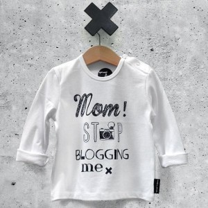 sproet_sprout_mom_stop_blogging_me_baby_shirt
